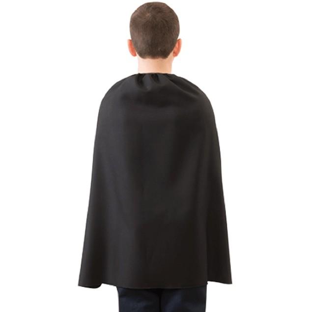 "Child Black Superhero Cape 28"""
