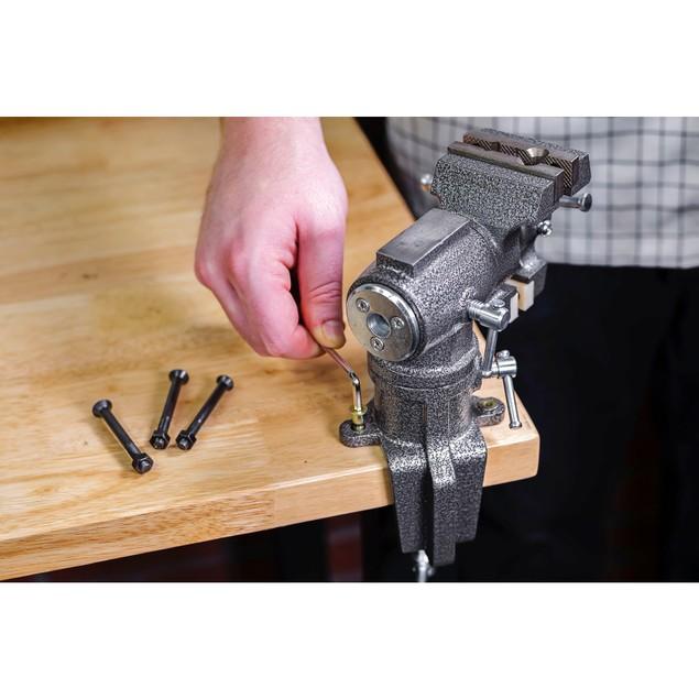 Toolsmith 2.5 Inch Multi-Purpose Table Vice - 240006
