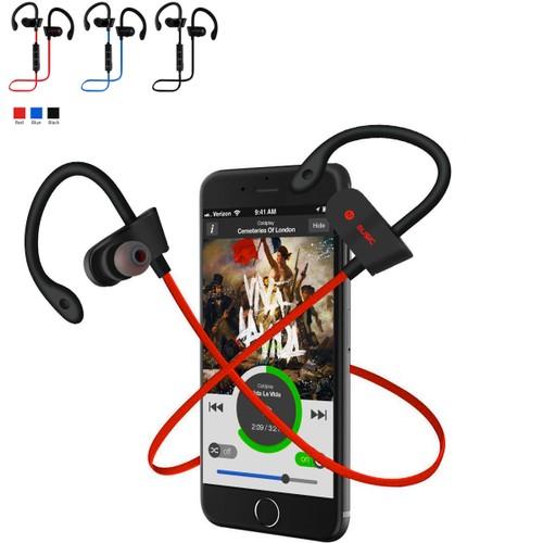 Sweat-Proof Noise-Canceling Wireless Bluetooth Earbuds