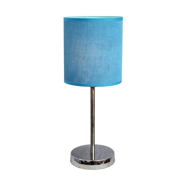 Simple Designs Chrome  Mini Basic Table Lamp