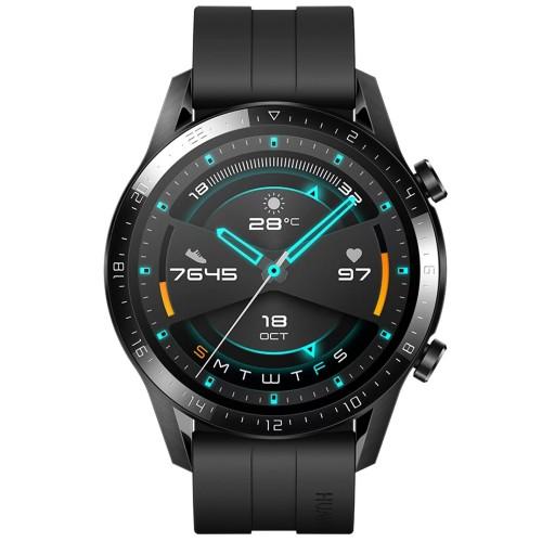 Huawei Watch GT 2 46mm LTN-B19 Kirin A1 1.39 in Smart Watch - Matte Black
