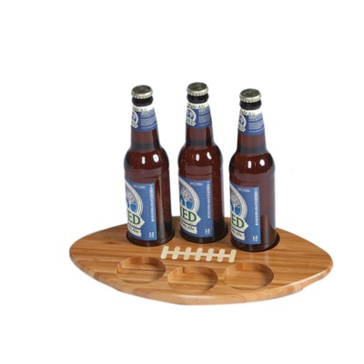 Picnic Plus  Beer Huddle Tray BAMBOO