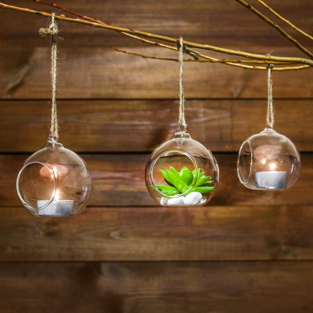 Hanging Tealight Candle Holders | MandW