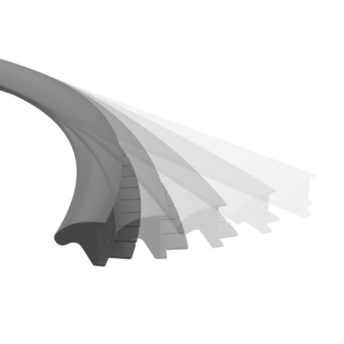 Direction Flexible Desk Edge Support