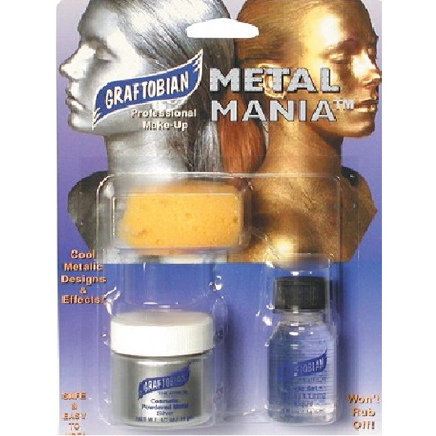 Cosmetic Powdered Metals - Metal Mania Silver