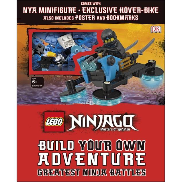 LEGO NINJAGO Build Your Own Adventure Greatest Ninja Battles