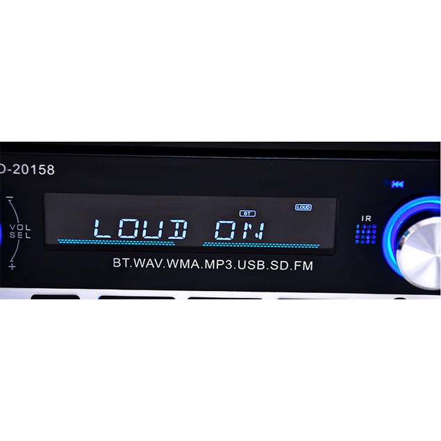 DWO JSD - 20158 12V Car Radio Stereo Player Bluetooth w/ control