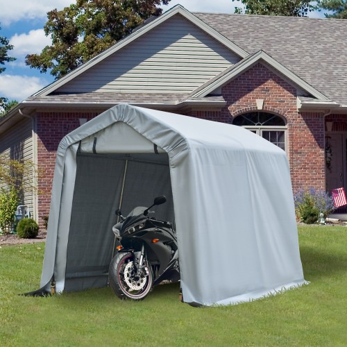 Outside Vehicle Port/Tent w/ Stakes & Guy Wire Stability Kit
