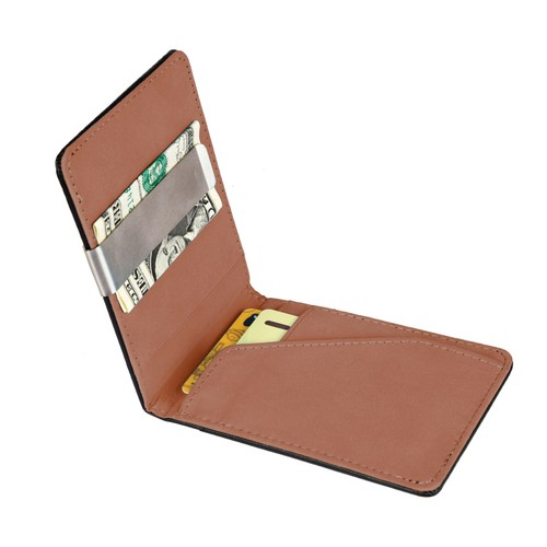 Unisex PU Leather Wallet RFID Blocking Slim Bifold Credit Card Holder