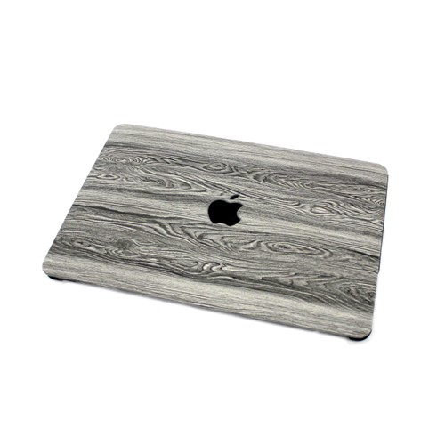 """EmbraceCase 11"""" MacBook Air Hard Shell Cover for A1370/A1465 - Gray Wood"""