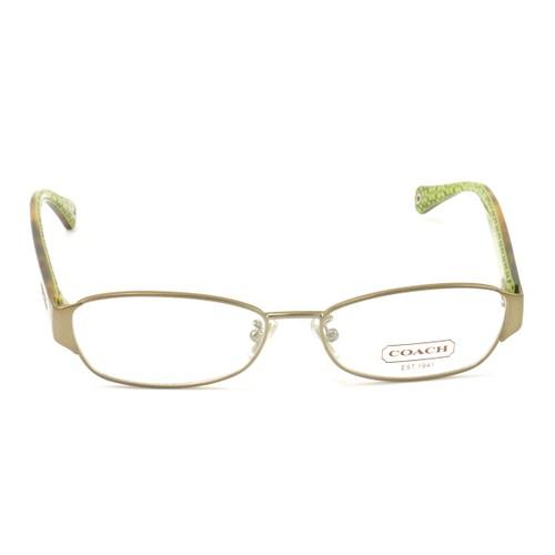 COACH 5018 9002 Eyeglasses Sand 53 15 135 Demo Lens without case finish line
