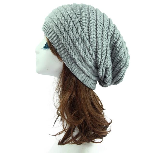 Woolen Knitted Hat Outdoor Warm Cap