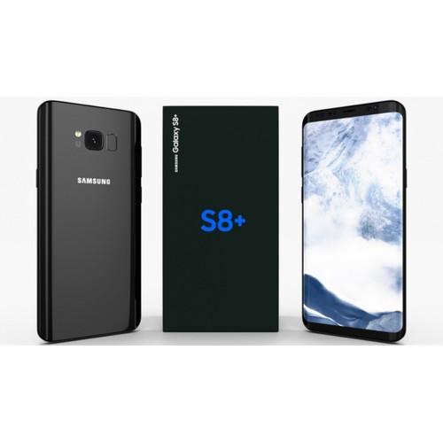 Samsung Galaxy S8+, Unlocked, Black, 64 GB, 6.2 in Screen