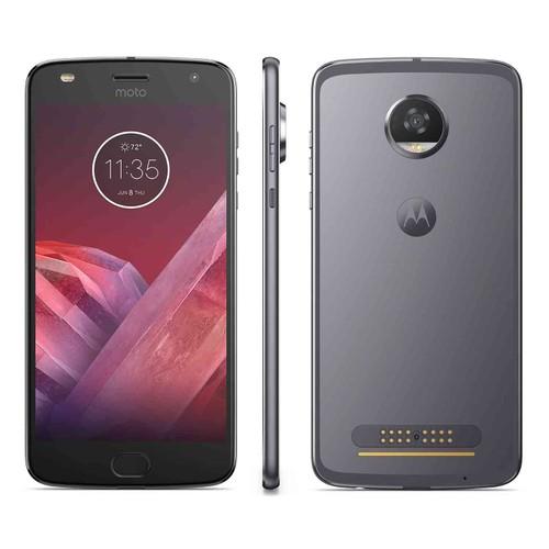 Motorola MOTO Z2 Play, Verizon, Gray, 32 GB, 5.5 in Screen