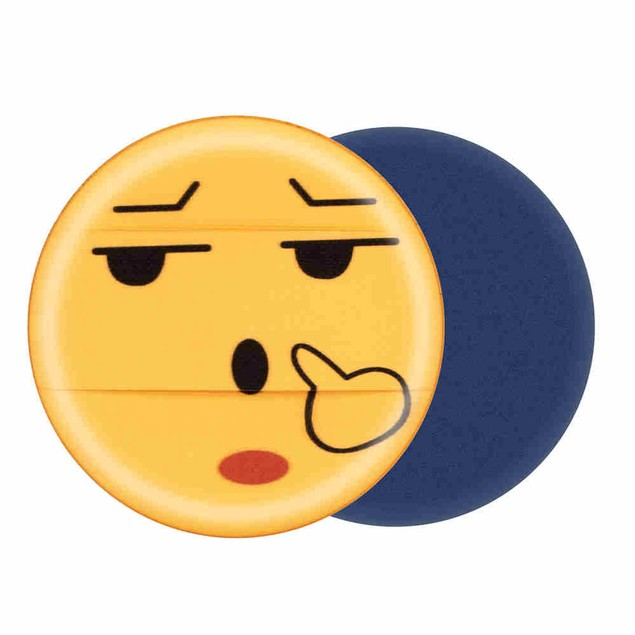 Cute Emoji Sponge Foundation Makeup Brush Powder Puff Brush