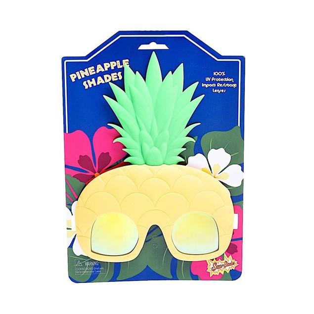 Pineapple Sun-Staches Fruit Food Fun Costume Mask Glasses Sunglasses Gift