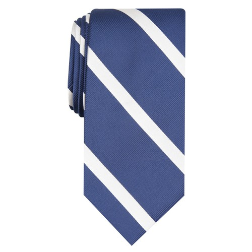 Club Room Men's Stripe Tie Blue - Size Regular
