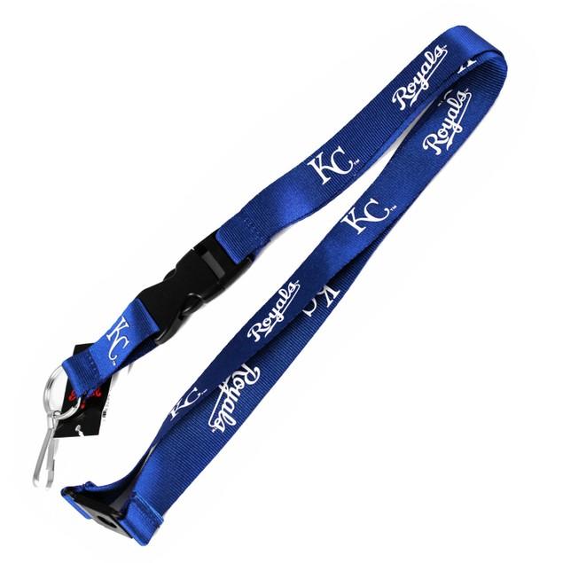 Kansas City Royals Clip Lanyard Keychain Id Ticket Holder MLB - Blue