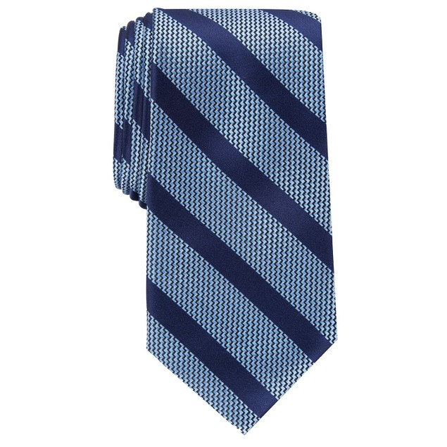 Perry Ellis Men's Brookford Stripe Tie Blue Size Regular
