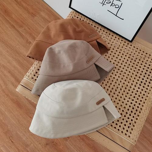 Women's Bucket Hat With Small Split Design