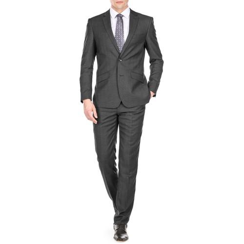 Gino Vitale Light Glen Check Men's Slim Fit 2PC Suit