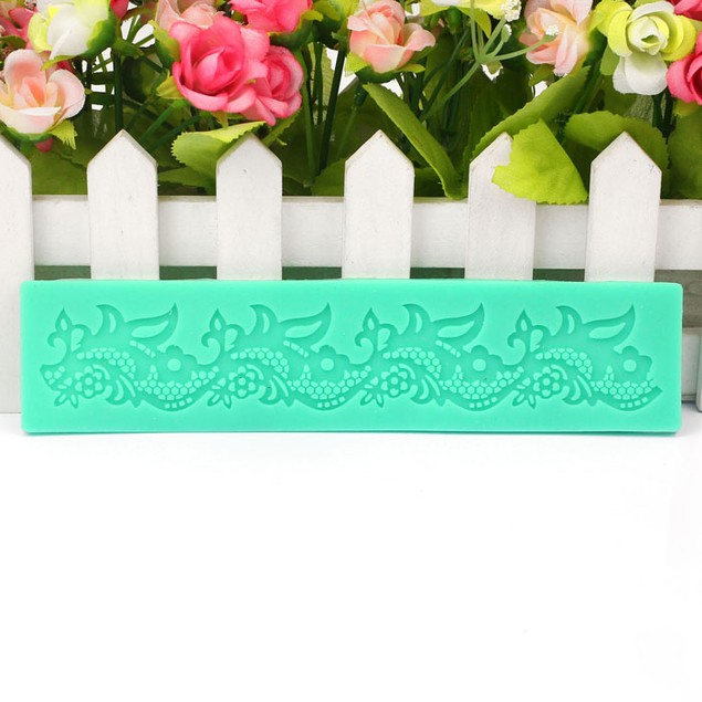 Flower Lace Silicone Mold Cake Decorating Tool For Fondant Cake