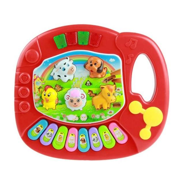 Baby Kids Musical Educational Animal Farm Piano Developmental Music Toy
