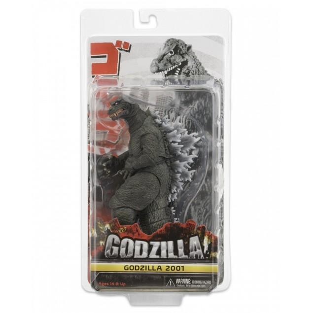 Godzilla (12 Inch Head to Tail) Action Figure Classic Godzilla 2001 Movie