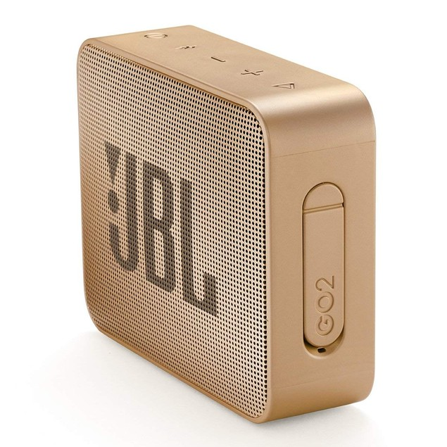 JBL GO 2 Portable Bluetooth Waterproof Speaker Champagne