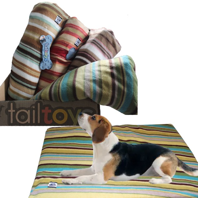 Zummy Large Warm & Cozy Fleece Mat Bed for Pets Dog Cat