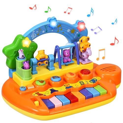 Kids Rainbow Piano Keyboard 8 Keys Music Toy