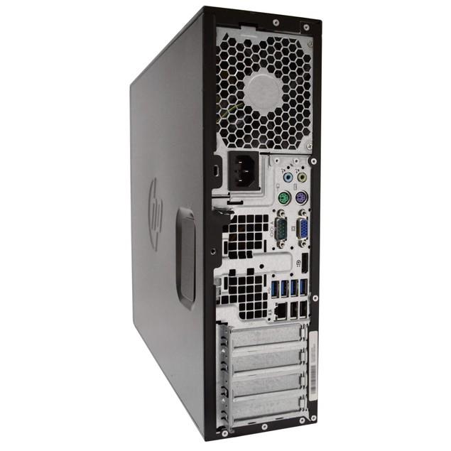 "HP 6300 Desktop Intel i5 8GB 1TB HDD Windows 10 Home 22"" Monitor"