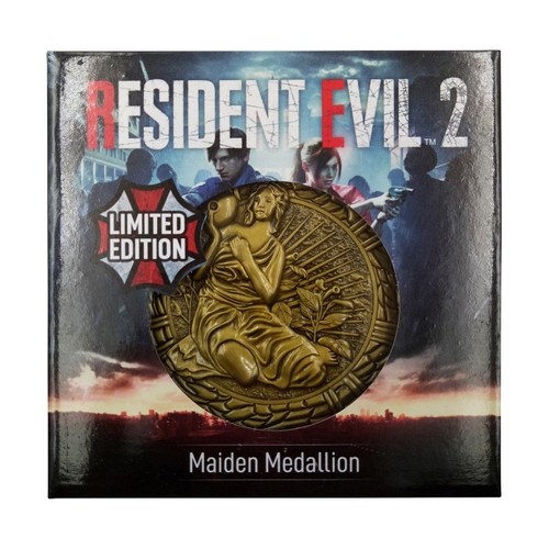 Maiden Resident Evil 2 Limited Edition Metal Replica R.P.D. Medallion