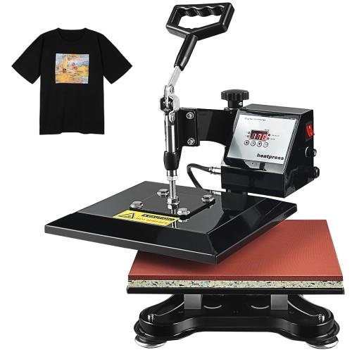 Costway 12'' x 10'' Heat Press Machine Swing-Away Digital Transfer Sublimat