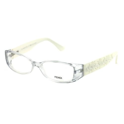 Fendi Women's Eyeglasses F844 871 Clear/White 52 14 130 Full Rim Oval