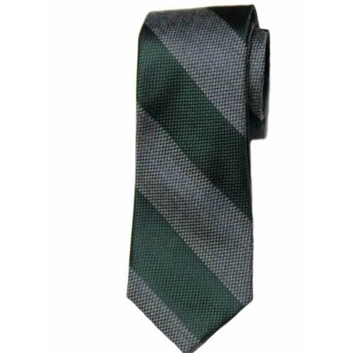 Tommy Hilfiger Men's Andy Stripe Tie Green Size Regular