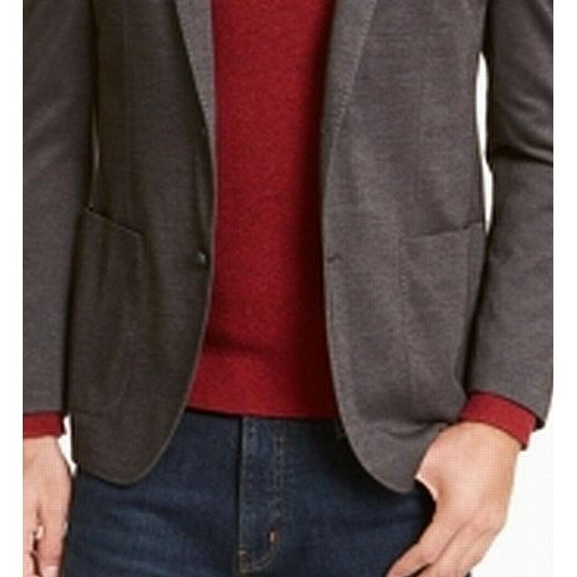 Michael Kors Men's Slim-Fit Sport Coat Black Size 48