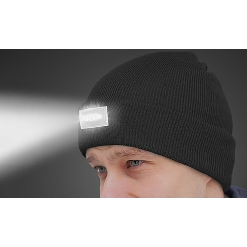 Unisex LED Headlamp Beanie