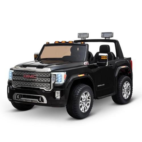 Licensed Sierra HD Outdoor Electric Kids Car w/ Bright Headlight&Suspension