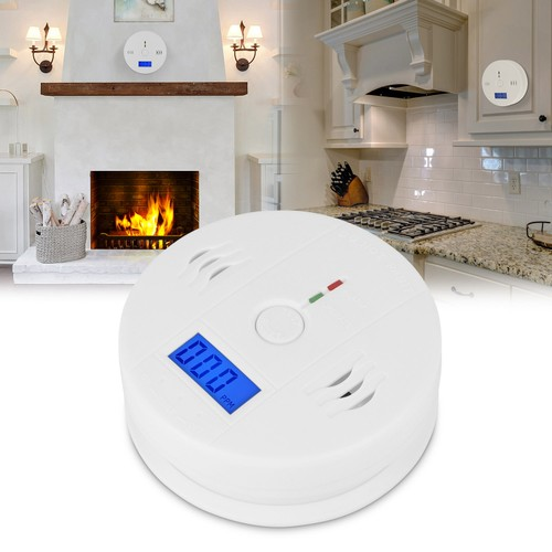 Battery Operated CO Carbon Monoxide Sensor Alarm