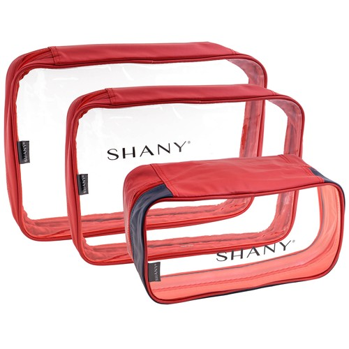 SHANY Clear Water-Resistant Luggage Organizer Set