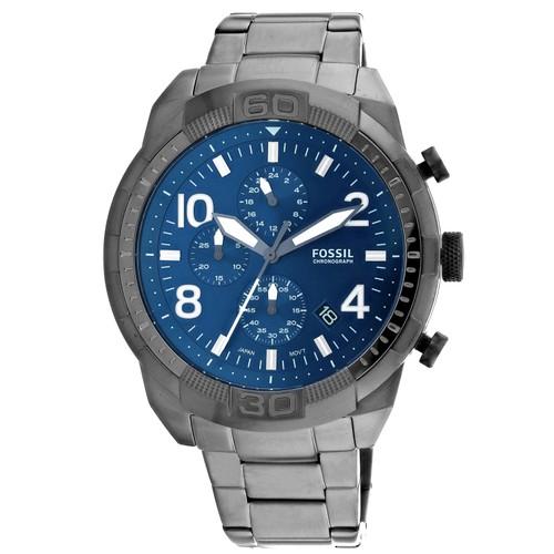 Fossil Men's Bronson Blue Dial Watch - FS5711