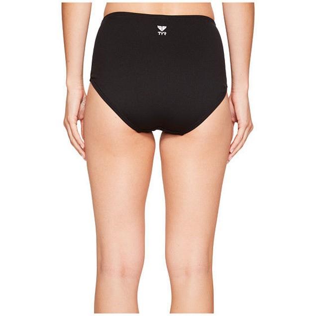 Wmns TYR Solid High Waist Bikini Bottom SZ: 6