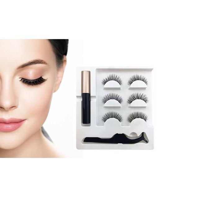 Professional Long Lasting Magnetic Eyeliner And Eyelash Kit