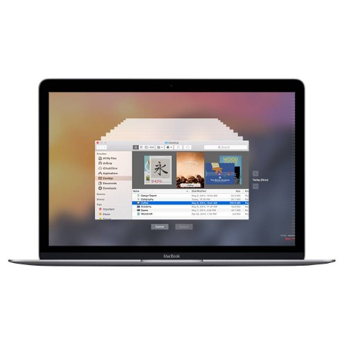 MacBook 12 Gray 1.2GHz Core M (2015) 8GB-512GB-MJY42LLA