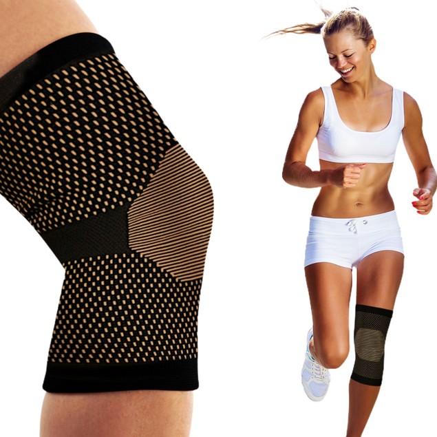 2-Pack: Copper-Infused Knee Sleeve