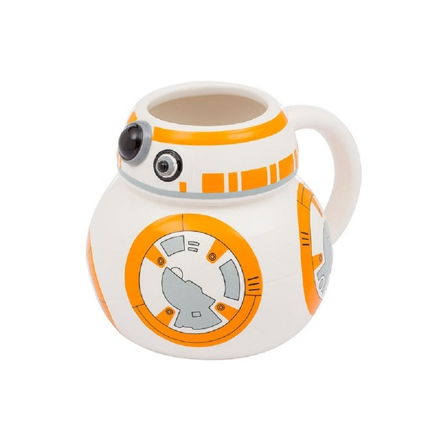 Star Wars: The Force Awakens BB-8 18 oz Ceramic Sculpted Mug Coffee Movie