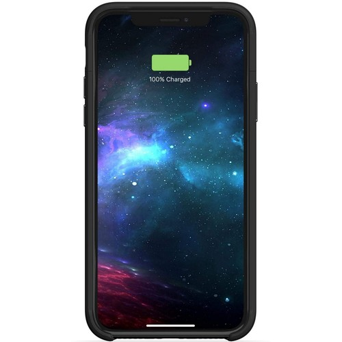 Mophie Protective Battery Base - iPhone Xs / X | New, Open Box | Qi | Black