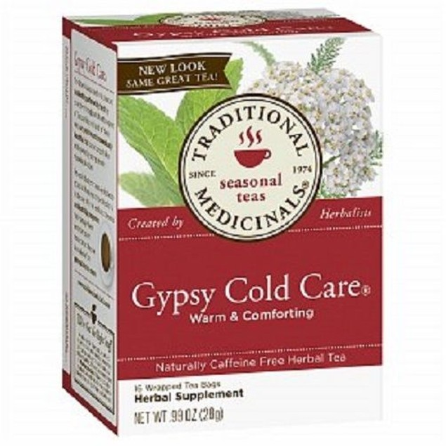 Traditional Medicinals Tea Gypsy Cold Care 2 Box Pack