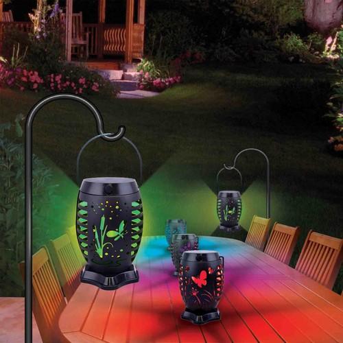 Solar Flicker Flame Lantern – Garden Wings Series
